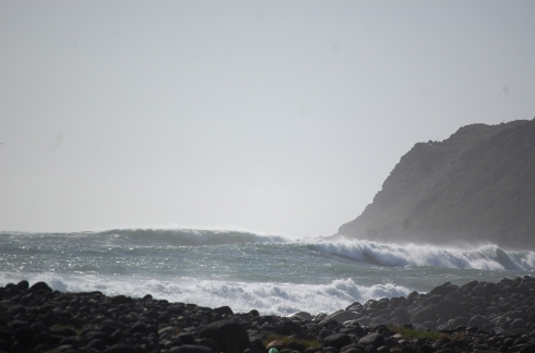 Mysto waves north of San Miguel.