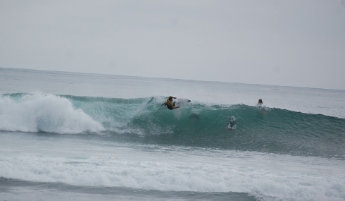 WCT surfer Heitor Alves was ripping. He made this.