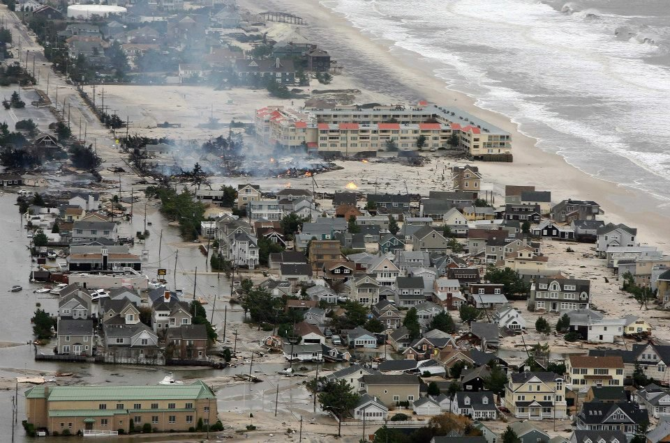 Hurricane Sandy, Climate Change and Sand Replenishment (1/5)