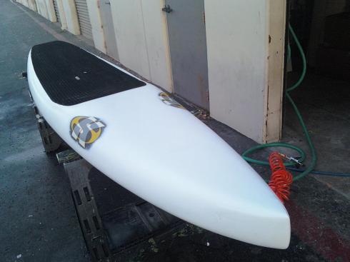 A custom SK paddleboard.