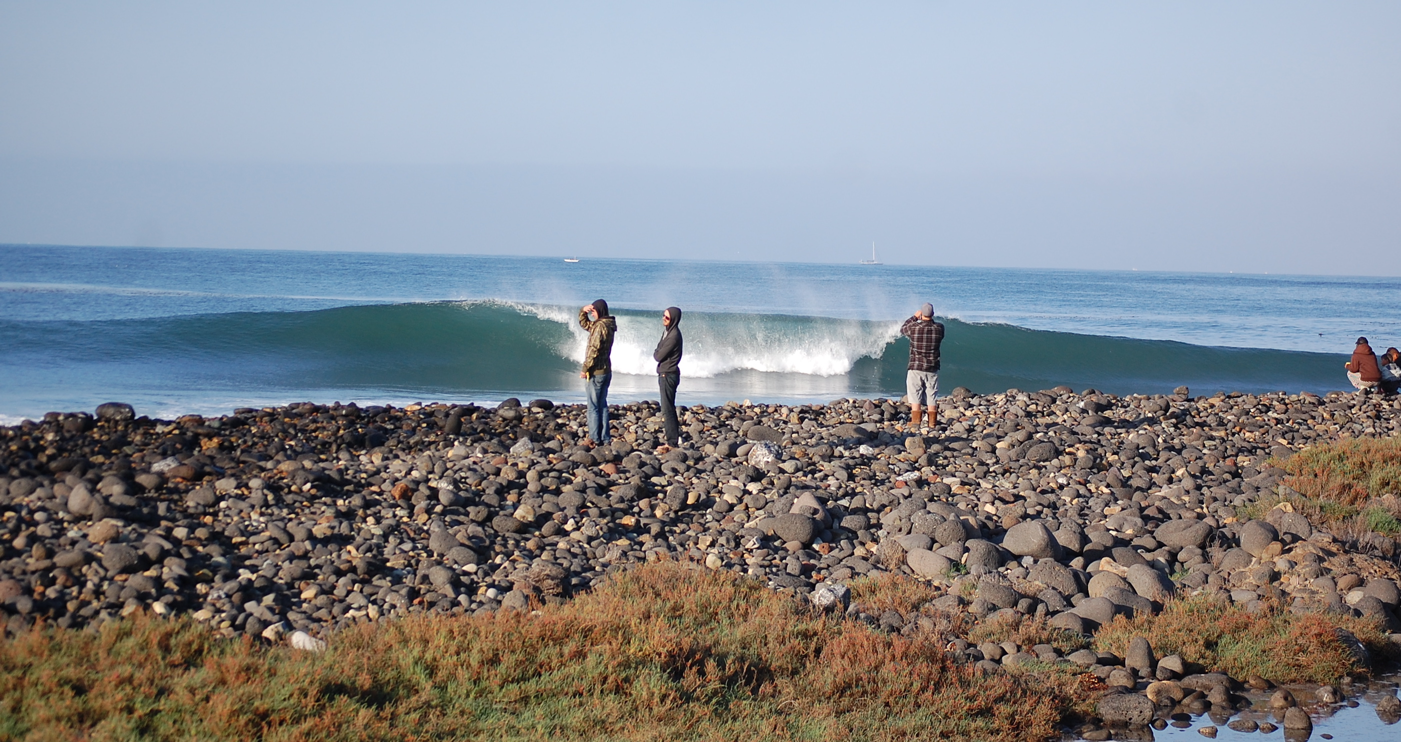 Sunday morning--San Miguel channeling Lowers.