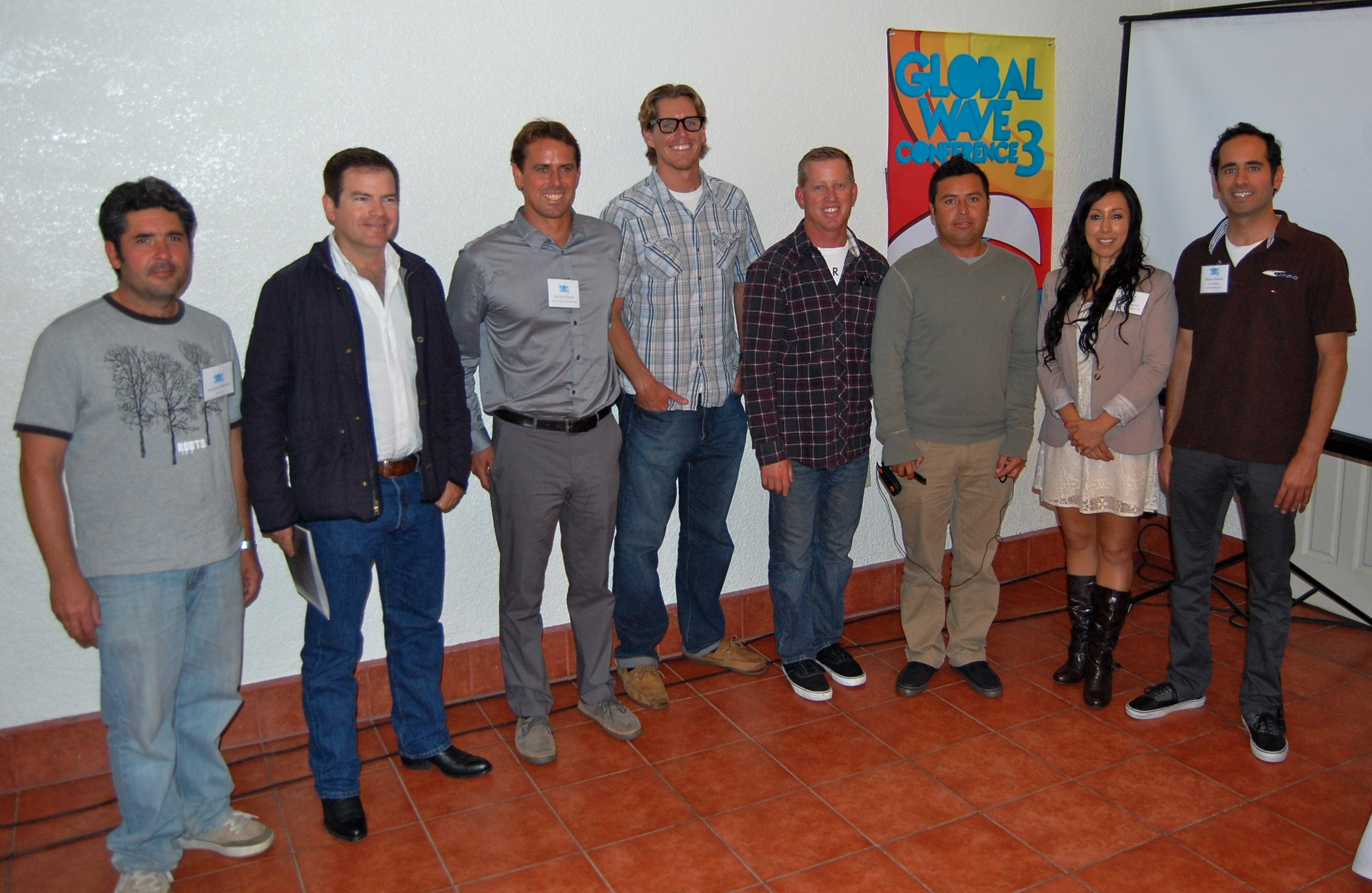 Participants who spoke on issues along the U.S.-Mexico borde and in Baja.