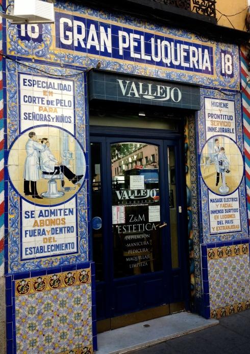 Old school barbershop.