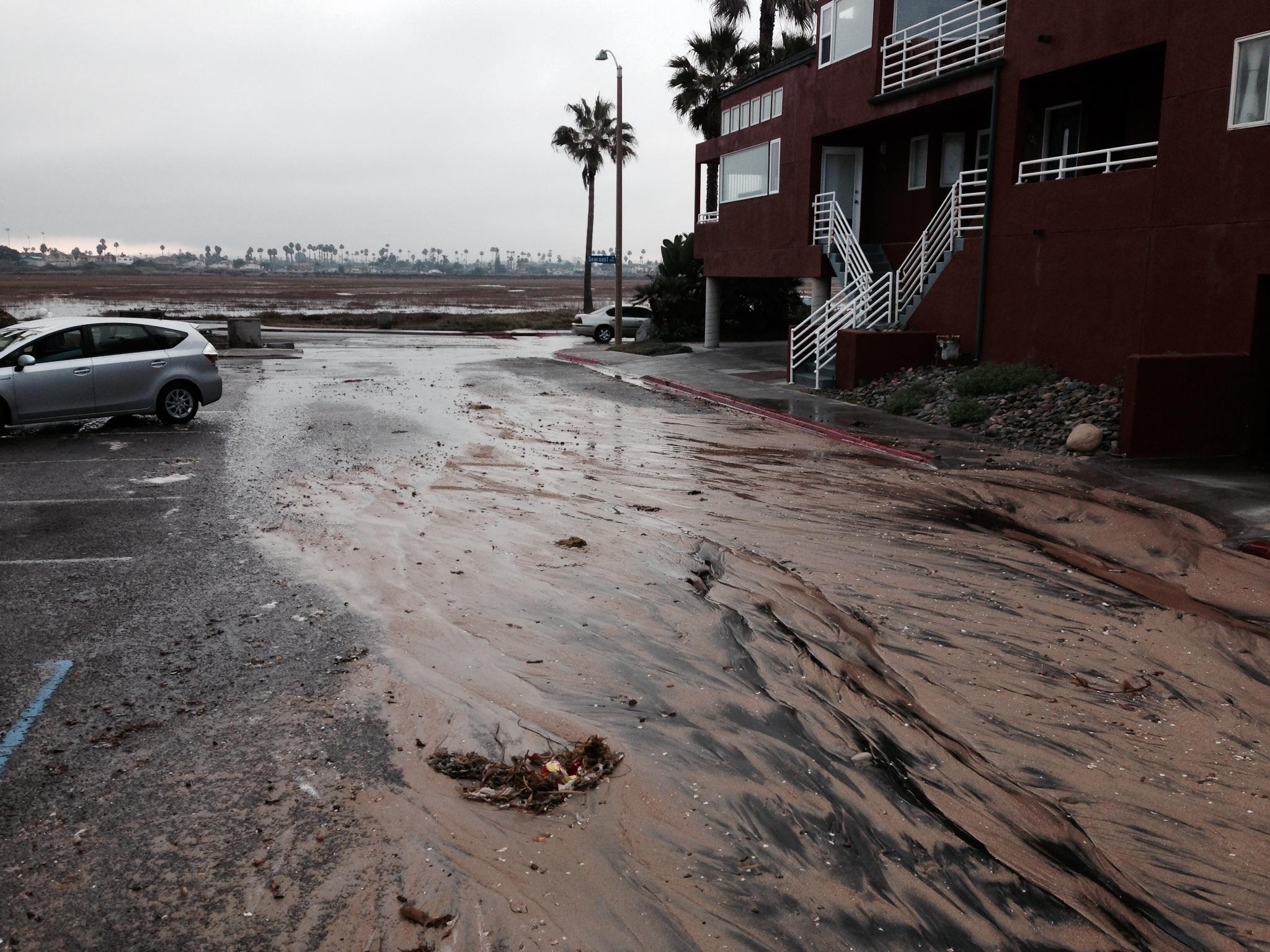 Flooding on Cortez Street