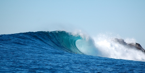The wave at Todos Santos is a beauty.