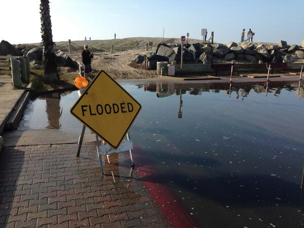 View photos of the flooding here.