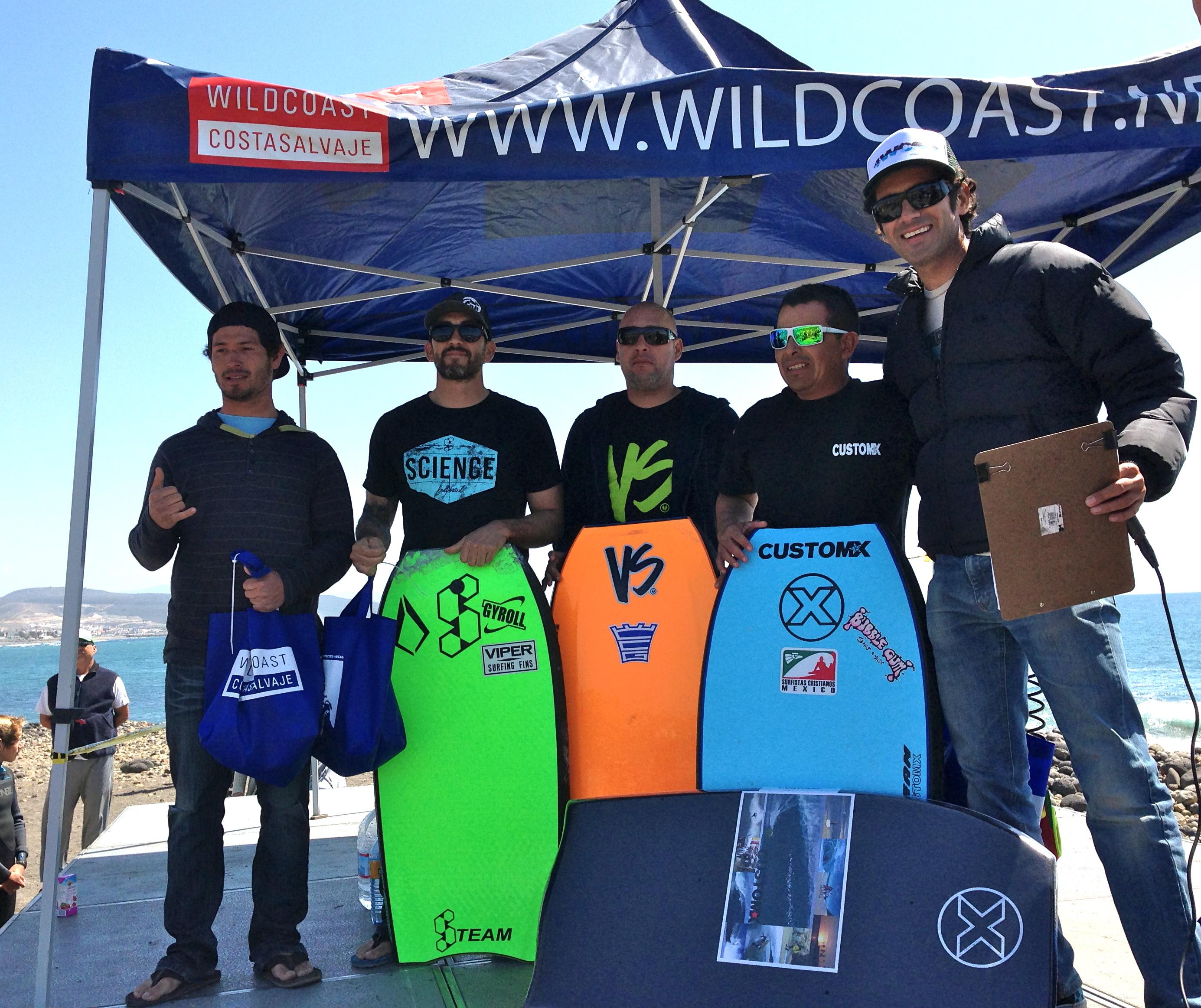 Bodyboard finalists.