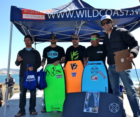 Bodyboard finalists.