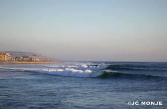 Imperial Beach just as Hurricane Marie started hitting on the late afternoon of Tuesday August 26, 2014. Photo: JC Monje