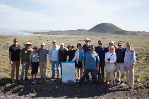 Our group in San Quintin. Thanks to Terra Peninsular, much of this amazing and world class wetland has been preserved.